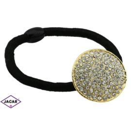 Ozdobna gumka do włosów - OG125 gold