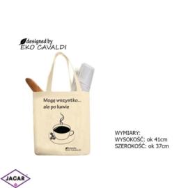 Torba ekologiczna torba zakupowa 100% bawełna TZ32