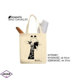 Torba ekologiczna torba zakupowa 100% bawełna TZ36