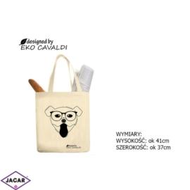 Torba ekologiczna torba zakupowa 100% bawełna TZ37