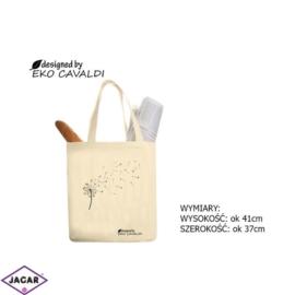 Torba ekologiczna torba zakupowa 100% bawełna TZ38