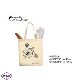 Torba ekologiczna torba zakupowa 100% bawełna TZ39