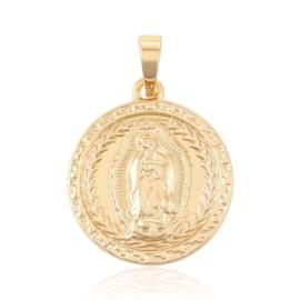 Medalion pozłacany - Xuping - 2,6cm - PRZ849