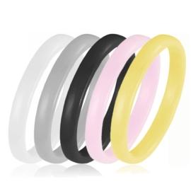 Pierścionek ceramiczny Xuping - kolory - PP747