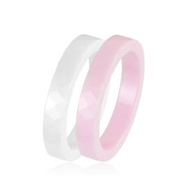 Pierścionek ceramiczny Xuping - 2 kolory - PP748