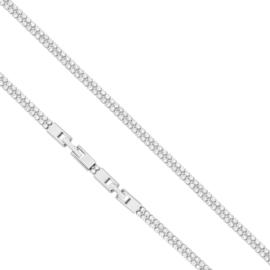Bransoletka - Dwurzędowy blask - 22cm - BP1416