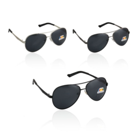 Okulary - Polaryzacja - Cobra Black -162- 12szt/op