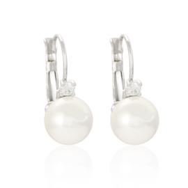 Perłowe kule w rodzie - 2,3cm - EAP3418