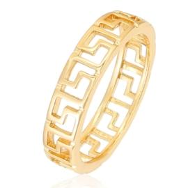 Pierścionek Xuping - greckie złocenie - PP863