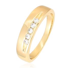 Pierścionek Xuping - Krystaliczny Uśmiech - PP864