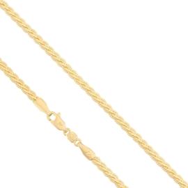 Łańcuszek pozłacany dł: 50cm LAP538