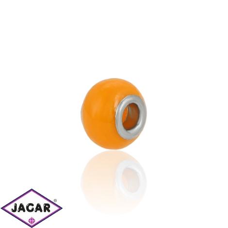 Charmsy - koralik - Orange - 1,4cm CHA08