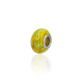 Charmsy - koralik - Mustard Mix - 1,4cm CHA16