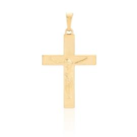 Krzyżyk pozłacany - Xuping - 3,5cm - PRZ868