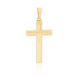 Krzyżyk pozłacany - Xuping - 3,5cm - PRZ869