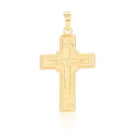 Krzyżyk pozłacany - 3,9cm - PRZ877