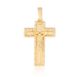 Krzyżyk pozłacany - 3,8cm - PRZ883