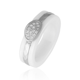 Pierścionek ceramiczny Xuping - PP933