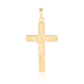 Krzyżyk pozłacany - 1,5cm PRZ916