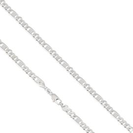 Łańcuszek rodowany - dł: 55cm LAP558