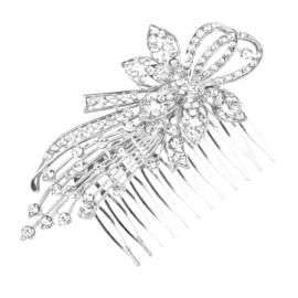 Grzebyk ozdobny do włosów dł. 11cm GRZ10