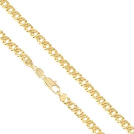 Łańcuszek pozłacany - dł: 52cm LAP569