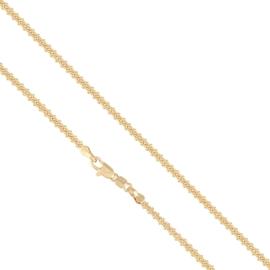Łańcuszek pozłacany - dł: 50cm LAP572