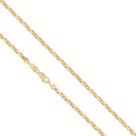 Łańcuszek pozłacany - dł: 50cm LAP573