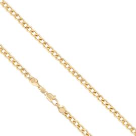 Łańcuszek pozłacany - dł: 50cm LAP579