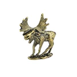 Figurka jeleń na podstawce - 10szt. 3,7cm FR164