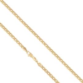 Łańcuszek pozłacany - Abelard - dł: 55cm LAP556