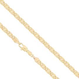 Łańcuszek pozłacany - Splot Słoneczny - LAP540