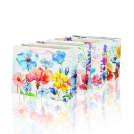 Torebki - kwiatki - 24x18cm 12szt TP250