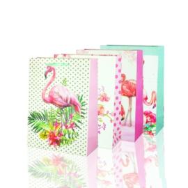 Torebki - flamingi - 24x18cm 12szt TP251