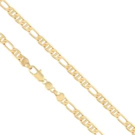Bransoletka pozłacana - 18cm - BP1775