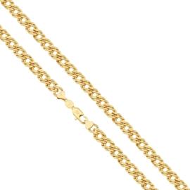Łańcuszek pozłacany - dł: 60cm LAP627