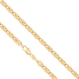 Łańcuszek pozłacany - dł: 60cm LAP630