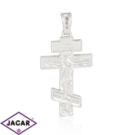 Krzyżyk rodowany - 4,1cm - PRZ996
