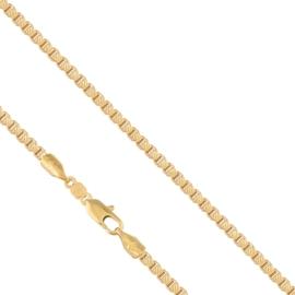 Łańcuszek pozłacany - dł: 60cm LAP642