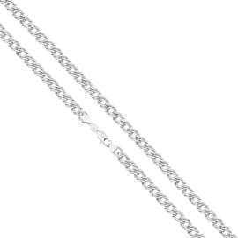 Łańcuszek rodowany - dł: 50cm LAP645