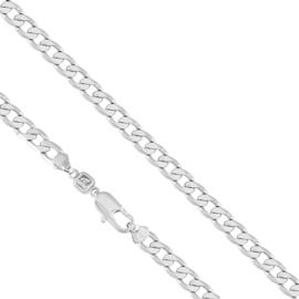 Łańcuszek rodowany - dł: 60cm LAP650