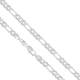 Łańcuszek rodowany - dł: 60cm LAP653