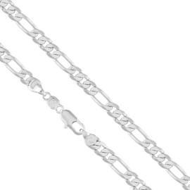 Łańcuszek rodowany - dł: 60cm LAP656