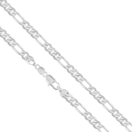 Łańcuszek rodowany - dł: 60cm LAP657