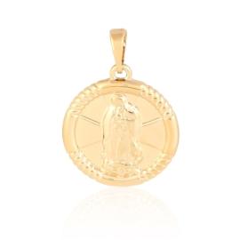 Medalik pozłacany - 2,6cm - PRZ998