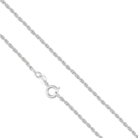 Łańcuszek rodowany - 50cm LAP663