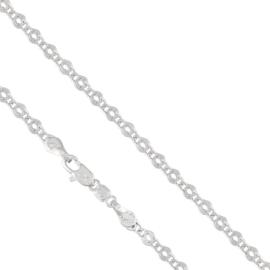 Łańcuszek rodowany - 50cm LAP665