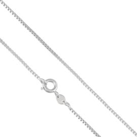 Łańcuszek rodowany - 60cm LAP666