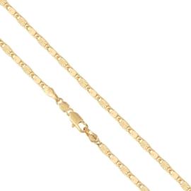 Łańcuszek rodowany - 50cm LAP667
