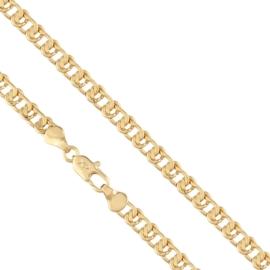 Łańcuszek rodowany - 50cm LAP668